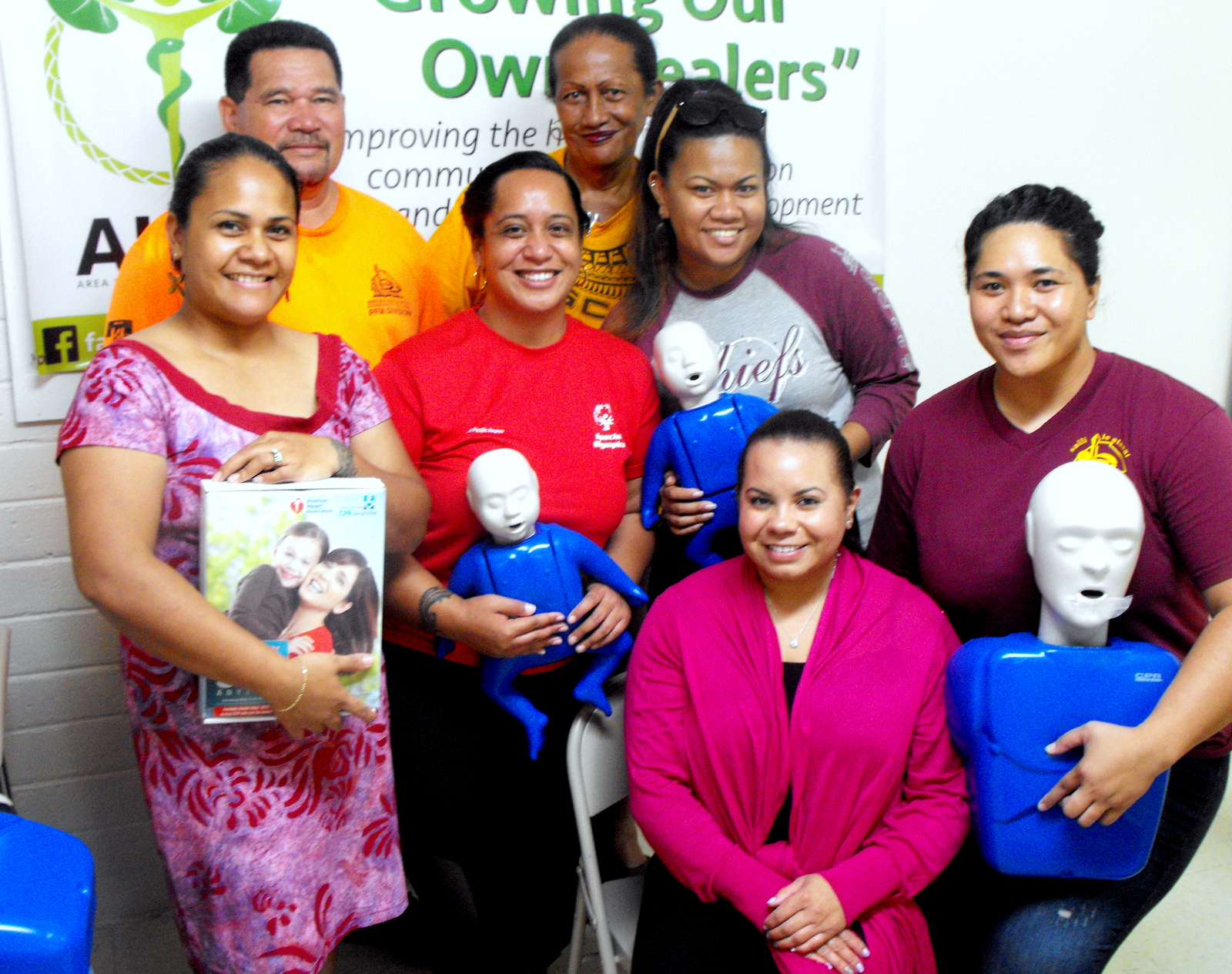 (AHEC), a program hosted by the American Samoa Community College, held a successful Youth Mental Health First Aid Workshop