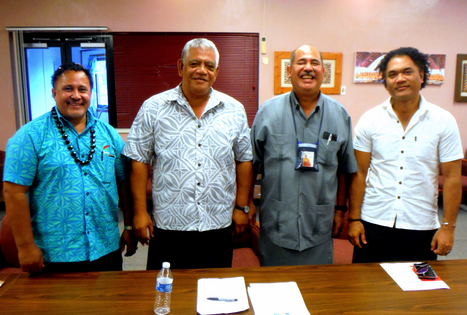 ASCC welcomes visitors from the Independent State of Samoa's environmental ministries